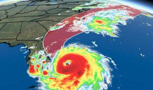 Rumbo a Florida: Dorian pierde fuerza pero aumenta su tamaño