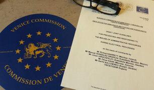 Adelanto de elecciones: Comisión de Venecia llegará a Lima la segunda quincena de setiembre