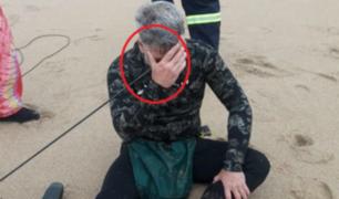 Buzo se dispara accidentalmente en la cabeza con lanza de pesca