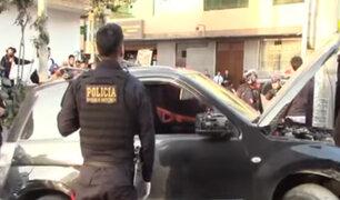 SMP: capturan a banda que intentó robar camioneta tras persecución policial