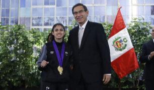 Lima 2019: paradeportistas peruanos recibieron condecoración en Palacio de Gobierno