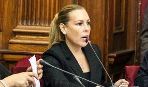 Fiorella Molinelli podría pagar S/100 mil para garantizar su colaboración en caso Chinchero