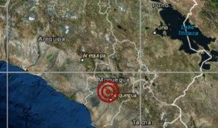Moquegua: sismo de magnitud 3.9 remeció la provincia de Ilo