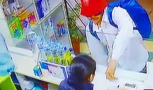 Cusco: cae ladrón que asaltaba boticas con peculiar modalidad
