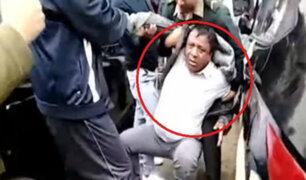 Los Olivos: capturan a falso policía que timaba a conductores incautos