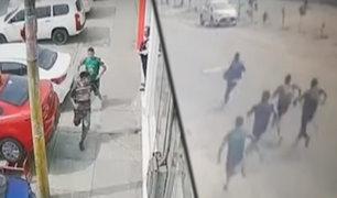 San Juan de Lurigancho: estudiantes de academia prepolicial capturan a dos ladrones