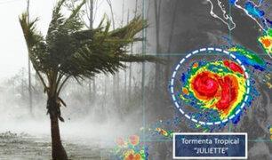 """México: huracán """"Juliette"""" se intensifica a categoría 3 en el Pacífico"""