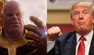 """Ministro iraní a Donald Trump: """"!Deja de imitar a Thanos!"""""""