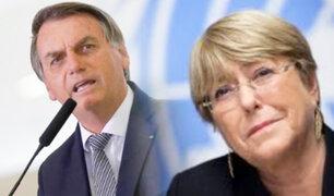 Polémica declaración de Bolsonaro desata críticas en Chile