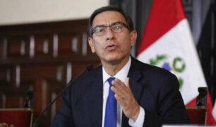 Presidente Vizcarra planteó cuestión de confianza para elección de miembros del TC