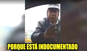 Los Olivos: estudiante detiene a falso policía