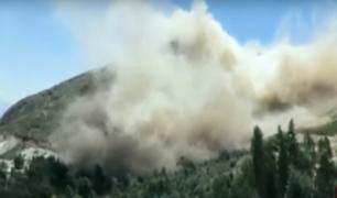 Huamachuco: pobladores son afectados por constantes explosiones de minería ilegal