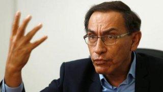 Presidente Vizcarra: El Congreso justifica día a día nuestro pedido de adelanto de elecciones