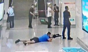 China: francotirador de la policía asesina a secuestrador