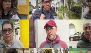 Esto opinan los peruanos sobre el adelanto de elecciones