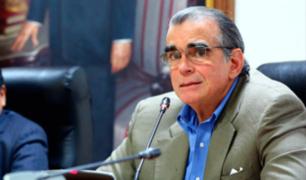 """Olaechea: """"Le pido al presidente Vizcarra no nos apartemos de las agendas concensuadas"""""""