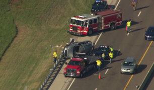 EEUU: socorristas son embestidos por vehículo mientras auxiliaban a víctimas