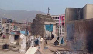SJL: recuperarán cementerio convertido en fumadero y basural