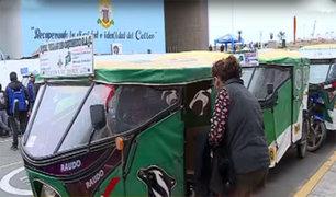 Callao: mototaxistas piden no ser confundidos con delincuentes