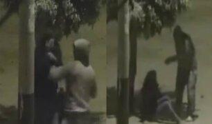 Ica: hombre golpea en la calle a su pareja luego de una discusión