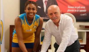 Ángela Leyva fue presentada por el PTT Sport de Turquía