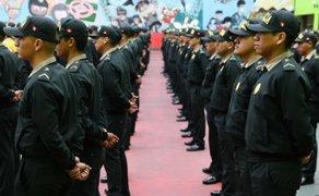 280 policías recién egresados reforzarán seguridad en zonas vulnerables de Lima
