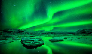 Espectacular Aurora Boreal en la Antártida causa asombro