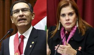 Mercedes Araoz y su reacción tras asumir la Presidencia por un día