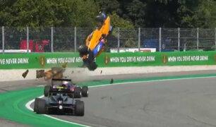 Impactantes imágenes: auto de Fórmula 3 sale volando de la pista
