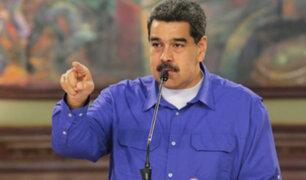 Presidente Maduro se pronuncia tras multitudinaria manifestación en Chile