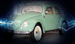 Volkswagen: el clásico escarabajo ahora será eléctrico