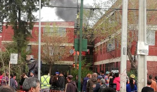 Chile: avioneta de la Fuerza Aérea cayó en un condominio