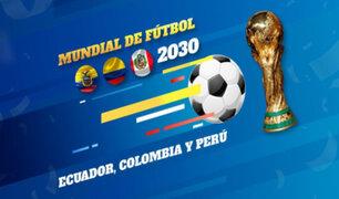 Ecuador hace propuesta a Perú y Colombia para organizar juntos el Mundial 2030