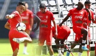 Selección peruana intensificó labores para enfrentar a Brasil en Los Angeles