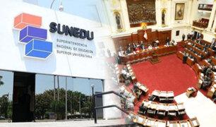 EXCLUSIVO | Sunedu en la mira del Congreso: sospechosos intereses parlamentarios