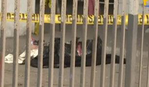 SMP: hallan dos cuerpos cercenados en exterminal de Fiori