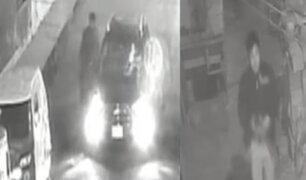 Surco: ladrón pide taxi por aplicativo y asalta al conductor