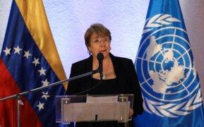 Bachelet denuncia posibles ejecuciones extrajudiciales y torturas en Venezuela