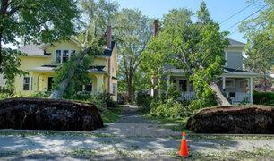 Dorian implacable: huracán deja a medio millón sin electricidad en Canadá