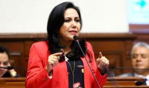 Gloria Montenegro lamentó que las declaraciones de Barata empeoren la situación de Villanueva