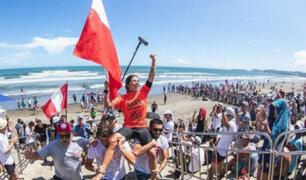 ¡Campeona mundial otra vez! Sofía Mulanovich la rompió en Isa-Japón