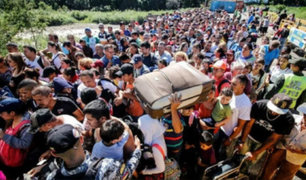 Colombia: piden a Perú y Ecuador corredor humanitario para venezolanos