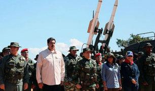 Gobierno de Maduro afirma que quiere evitar guerra con Colombia