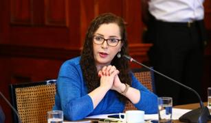 Rosa Bartra confirma que Congreso recibirá a Comisión de Venecia el 23 de setiembre