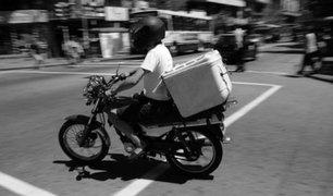 Breña: capturan a falso repartidor de delivery que llevaba marihuana