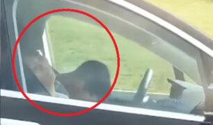 EEUU: chofer y copiloto se quedan dormidos mientras auto estaba en marcha
