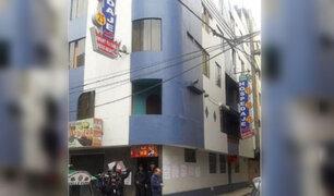 SMP: clausuran hotel donde habrían descuartizado dos cuerpos