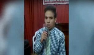 EXCLUSIVO | Joven peruano asesinado y descuartizado era muy religioso