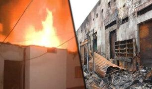 Mercado minorista de La Victoria será clausurado tras incendio
