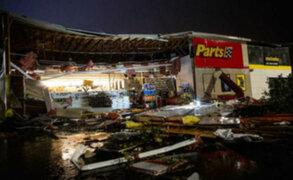 EEUU: tornados causan destrucción en Wyoming y Dakota del sur